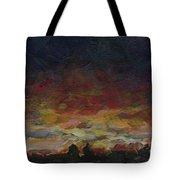 Tiny Sunset Tote Bag