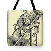 Tiny Tim From A Christmas Carol By Charles Dickens Tote Bag