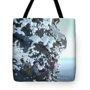 Tm5301 Ed Parker On Three Fingered Jack 1957 Or Tote Bag by Ed Cooper Photography