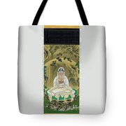 Top Quality Art - White Robed Kannon Tote Bag