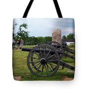 Touring The Gettysburg Battlefield Tote Bag