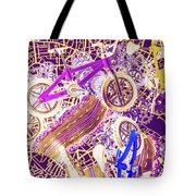 Tracks And Tires Tote Bag
