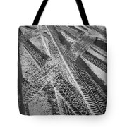 Tracks In The Sand Tote Bag
