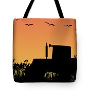 Tractor Tote Bag