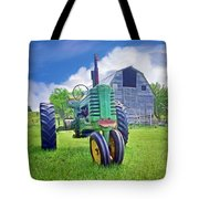 Tractor - On The Farm Tote Bag