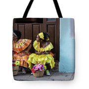 Traditional Meets Modern Tote Bag