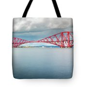 Train Bridge - Forth Of Fifth Tote Bag