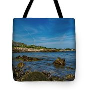 Tranquil Blues Day Kennebunkport Tote Bag