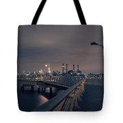 Transmitter Park Pier, Brooklyn Tote Bag