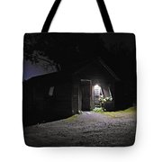 Trapp Family Lodge Cabin Sunrise Stowe Vermont Photo Tote Bag