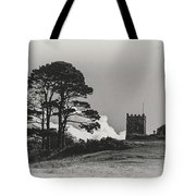 Tree And Tower Tote Bag