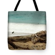 Tree Bark Tote Bag