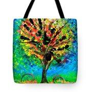 Tree Of Faith Tote Bag