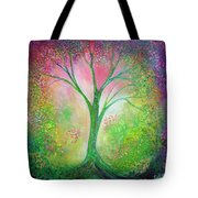 Tree Of Tranquility Tote Bag