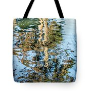 Tree Reflection Abstract Tote Bag by Kate Brown