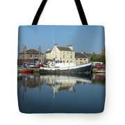 Trefusis Gy242 At Glasson Dock Tote Bag