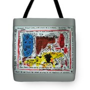 Tribute To Basquiat, Philosophy, And Activism Tote Bag