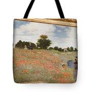 Tribute To Claude Monet Tote Bag