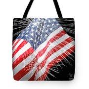 Tribute To The Usa Tote Bag