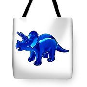 Triceratops Cartoon Tote Bag