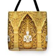 Triple Buddhas, Thailand Tote Bag