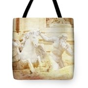 Triton And Horse Tote Bag