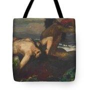 Triton And Nereid Tote Bag