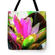 Tropic Hawaii - Ti Leaf Plant Tote Bag