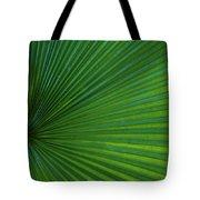 Tropical Leaf Tote Bag