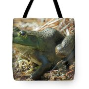 True Frog Tote Bag by Sally Sperry