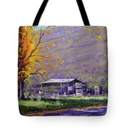 Tumut Valley Farm Shed Tote Bag