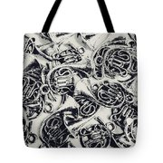 Tunes And Tones Tote Bag