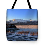 Turnagain Arm And Kenai Mountains Alaska Tote Bag