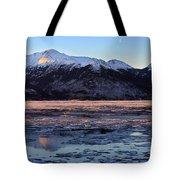Turnagain Arm At Dawn Alaska Tote Bag