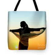 Turning To The Sun Tote Bag