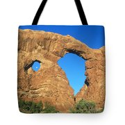 Turret Arch With Moon Tote Bag