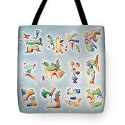Twelve Glyphs Tote Bag