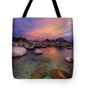 Twilight Canvas  Tote Bag by Sean Sarsfield