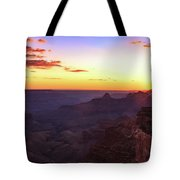 Twilight In The Canyon Tote Bag