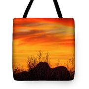 Twin Peaks Silhouette H1840 Tote Bag by Mark Myhaver