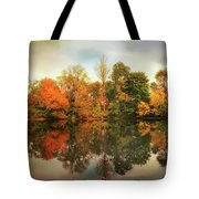 Twin Pond Reflections Tote Bag