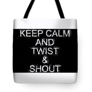 Twist And Shout V3 Tote Bag