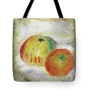 Two Apples, 1875 Tote Bag