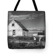 Two Sheds In Blue Rocks #01 Tote Bag