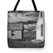 Two Sheds In Blue Rocks #2 Tote Bag