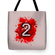 Twoo Over Red Stain Tote Bag