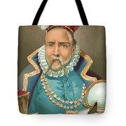 Tycho Brahe Illustration Tote Bag