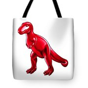 Tyrannosaurus Cartoon Tote Bag