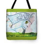Tzitzit Tote Bag by Hebrewletters Sl
