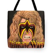 Ultimate Warrior Writing Version Tote Bag